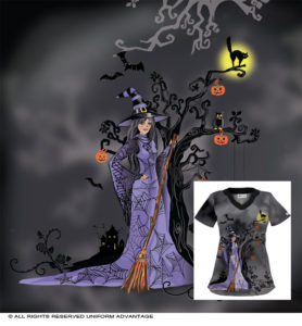 Miami Children's Halloween textile print design