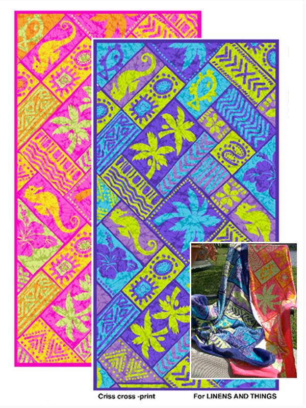 miami textile print design